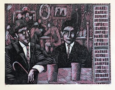 Macek Pavel  : Kafka s Jamesem Joycem