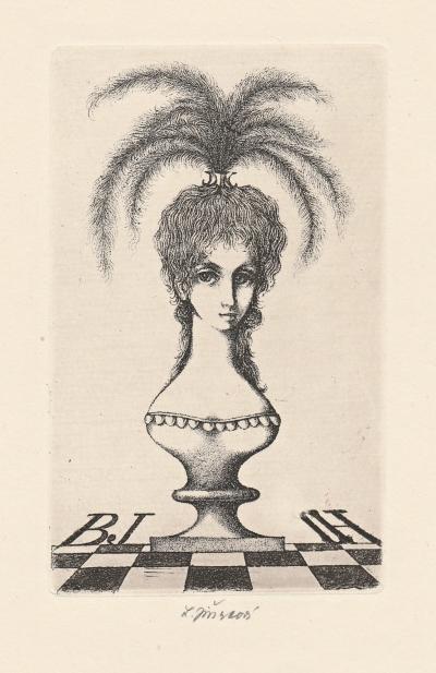 Jiřincová Ludmila (1912 - 1994) : Ex libris BJ