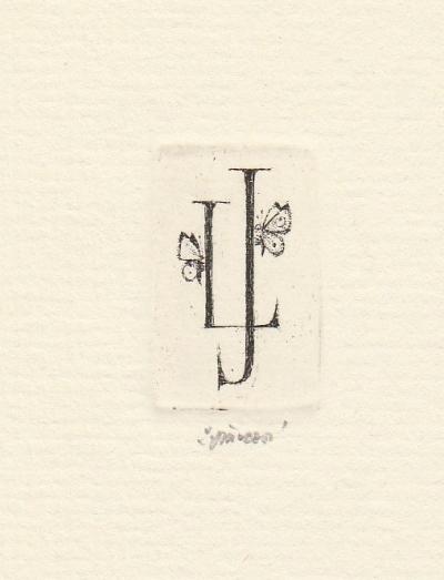 Jiřincová Ludmila (1912 - 1994) : Ex libris L. Jiřincové