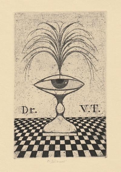 Jiřincová Ludmila (1912 - 1994) : Ex libris Dr. V.T.