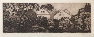 Jiřincová Ludmila (1912 - 1994) : Domy v zahradě