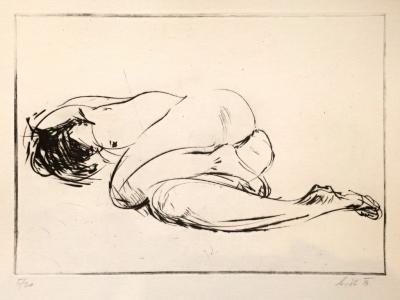 Květ Martin (1981) : Ležící akt
