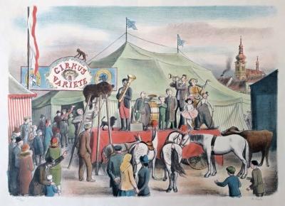 Fiala Václav (1891 - 1968) : Cirkus Varieté