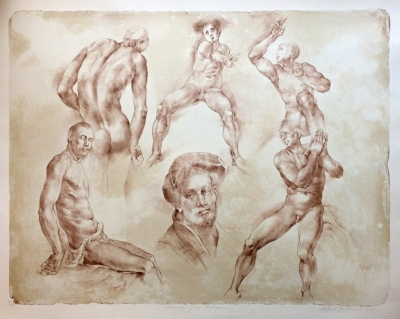 Kulhánek Oldřich (1940 - 2013) : Hommage a Jacopo Pontormo