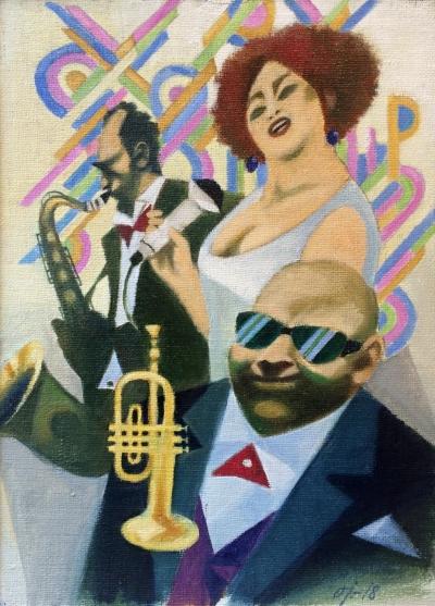 Jelínek Oldřich (1930) : Jazz