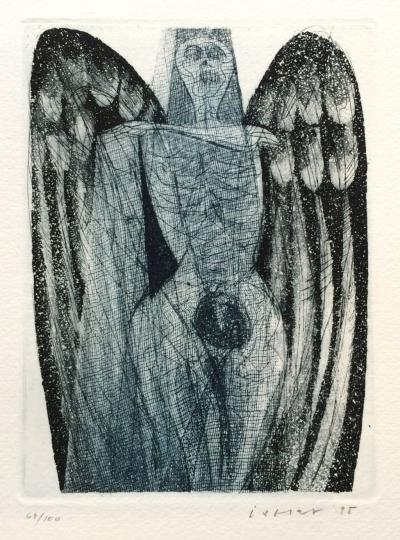 Istler Josef (1919 - 2000) : Azrael (Anděl Smrti)