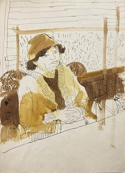 Šlitr Jiří (1924 - 1969) : Sedící žena