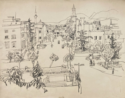 Šlitr Jiří (1924 - 1969) : Město