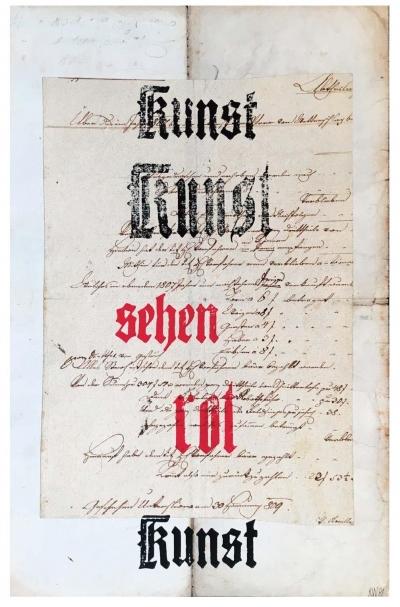 Trinkewitz Karel (1931 - 2014) : Kunst, Sehen, Rot