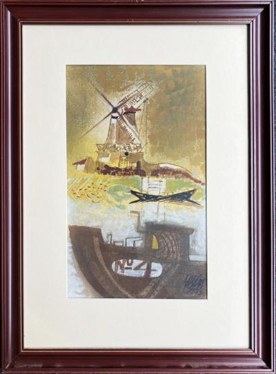 Plocek Vilém (1905 - 2001) : Mlýn na Baltu